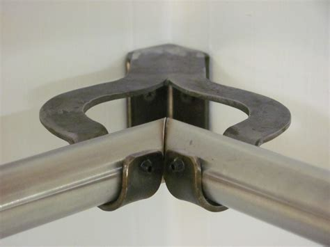 corner curtain bracket drapery brackets
