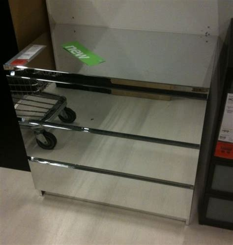 Bedroom Furnitures ikea quot malm quot mirrored dresser 300 but not real mirrors