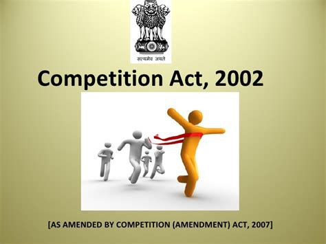 Competition Act 2002 Notes For Mba competition act business
