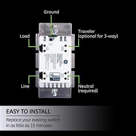 ge smart fan control new model ge z wave plus wireless smart fan speed control