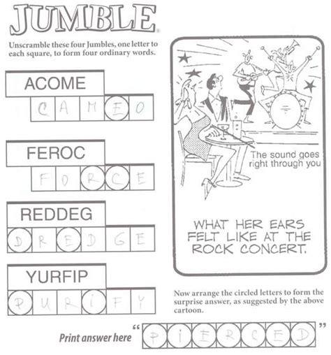 5 Letter Jumbled Words jumbled words exles lesupercoin printables worksheets