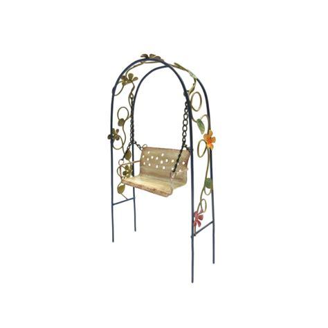 metal swing set accessories metal garden swing set fairy garden accessories
