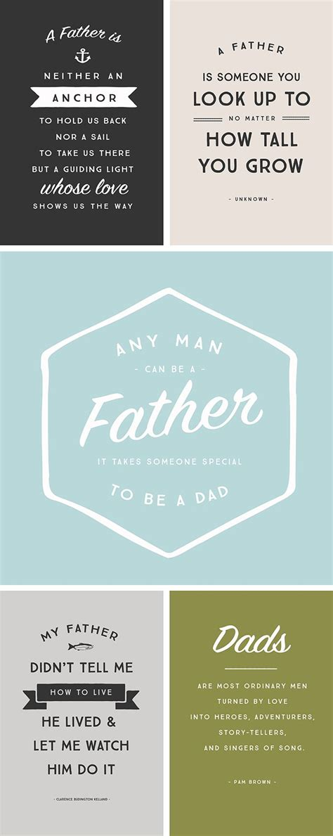 printable daddy quotes 5 inspirational quotes for father s day happy fathers