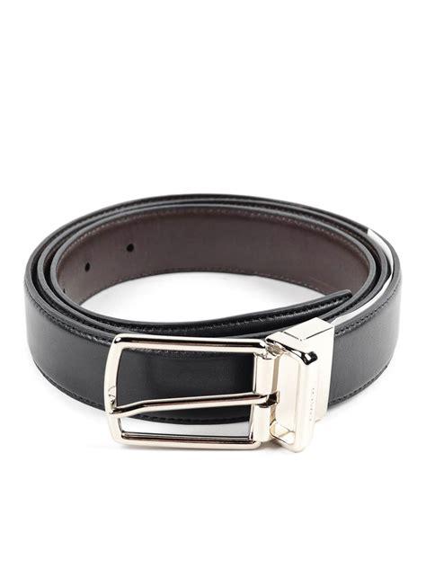 Coach Belt buckled leather reversible belt by coach belts ikrix