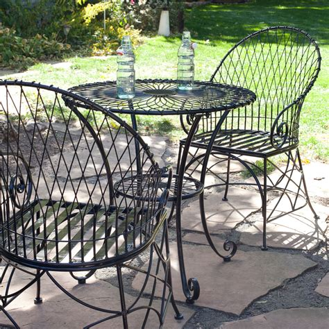 black metal patio chairs awesome 20 metal patio furniture ahfhome my home and furniture ideas