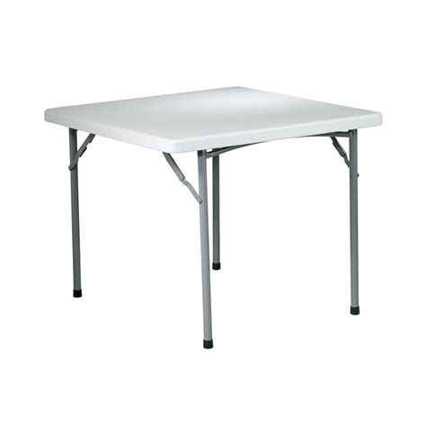 36 x 36 card table shop office star 36 in x 36 in square steel grey nebula