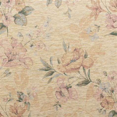 Floral Tapestry Upholstery Fabric by Floral Distressed Vintage Traditional Tapestry Curtain