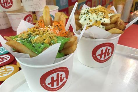 Kentang Fries Import hi fries camilan kentang renyah dengan saus lezat menggoda vemale