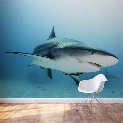 caribbean reef shark wall mural shark wall sticker wallums