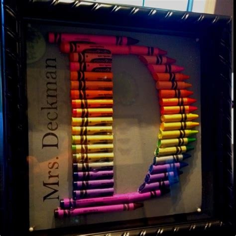 Gift Ideas Letter D 17 Best Ideas About Crayon Letter On Crayon Crafts Crayon Ideas And Gift Ideas For