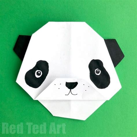easy origami panda easy origami panda polar brown