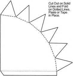 paper cone template how to make cone may baskets crafts activities