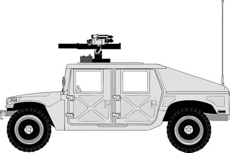 army jeep drawing armed hummer clip art at clker com vector clip art