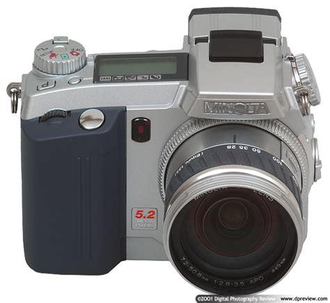 minolta digital minolta dimage 7 review digital photography review