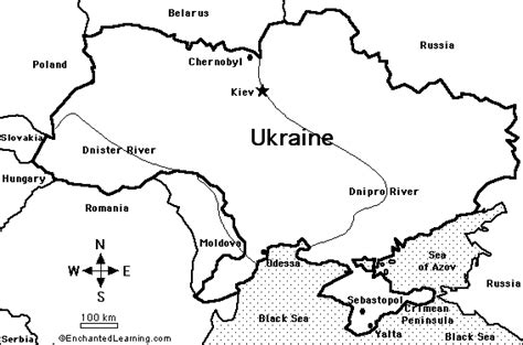 ukraine map coloring page map of ukraine quiz coloring printout answers