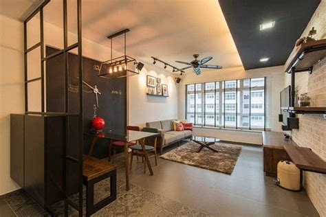hdb house interior design modern industrial hdb interior design by dexign deals interior home decor