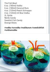 best 25 fishbowl drink ideas on most popular