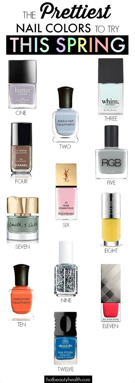 Nail Colors To Try by The Prettiest Nail Colors To Try This Nail