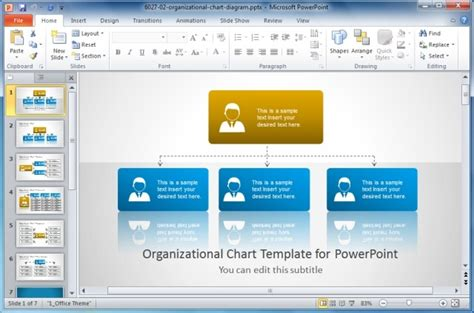 powerpoint business card template different types of organizational structures and charts
