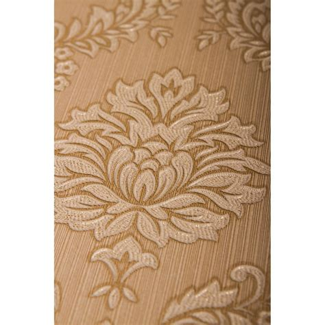 wallpaper gold and beige jacquard gold beige graham brown