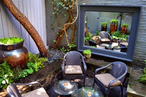 backyard nyc nyc backyard contemporary patio new york by