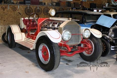 Dimensions Of One Car Garage Fire Truck Conversion 1927 American Lafrance Speedster