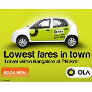 Car Types In Ola Cabs by Techefire Olacabs Car Rental Service Rs 200 For New