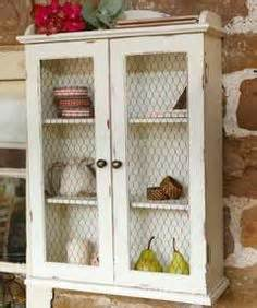 chicken wire cabinet door inserts chicken wire on chicken wire upcycled vintage