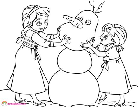 baby elsa coloring pages disney princesses archives rainbow playhouse coloring