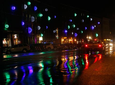 holiday lights in portland press herald
