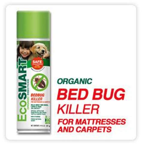 ecosmart bed bug spray ecosmart bed bug killer for mattresses and carpets 14 oz