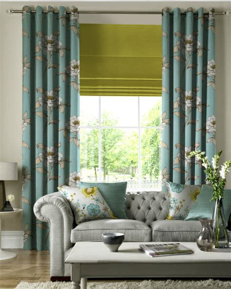 roman blinds with matching curtains how to select the right window curtains in your interior