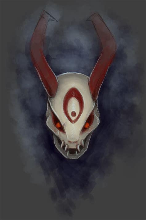 Moon Mask blood moon mask by whisperess on deviantart