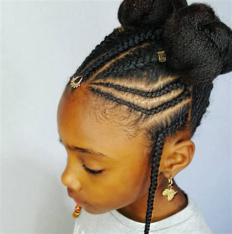 ebay real hair braids for each side or part 40 pretty fun and funky braids hairstyles for kids