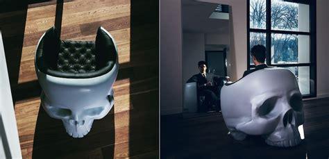 giant armchair giant skull armchair designed by gregory besson4 fubiz media