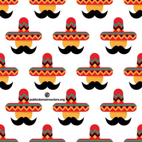 pattern mexican vector mexican pattern vector download at vectorportal
