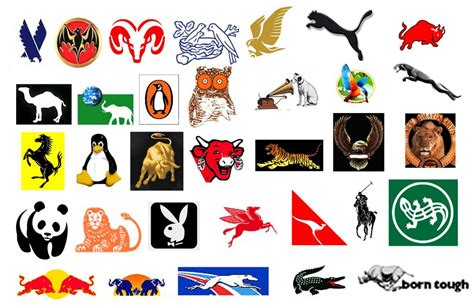 Auto Logo Tier by Companies With Animal Logos Www Pixshark Images