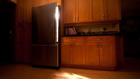 around the kitchen in the refrigerator light cause there we are again in the middle of the all well