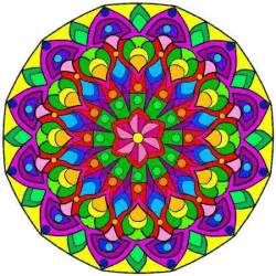 color mandala mandalas for coloring cool images