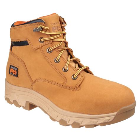 work boots for timberland timberland pro workstead honey nubuck leather mens safety