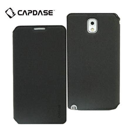 Capdase For Samsung Galaxy Note 3 capdase sider baco folder for galaxy note 3 black