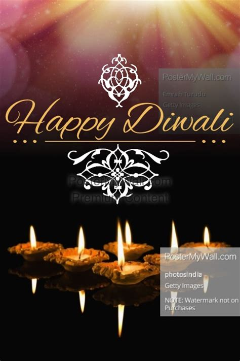poster design for diwali happy diwali template postermywall