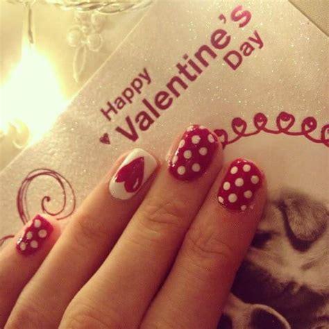 imagenes de uñas decoradas con corazones 2015 u 209 as de san valentin 70 dise 209 os u 209 as decoradas nail art