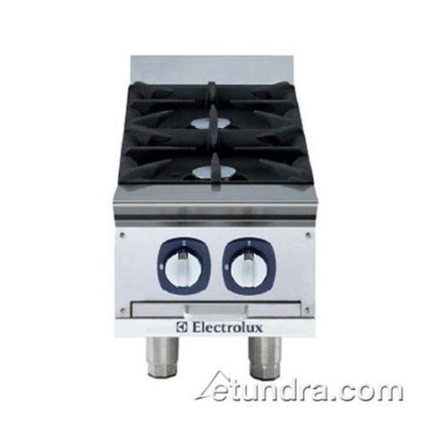 Table Top Burner by Electrolux Dito 169000 2 Burner Table Top Gas Range