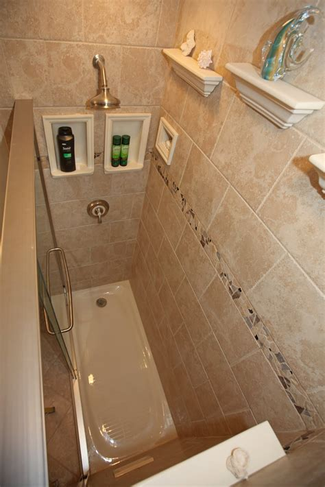 5 Foot Shower Base by Bathroom Remodeling Design Ideas Tile Shower Niches