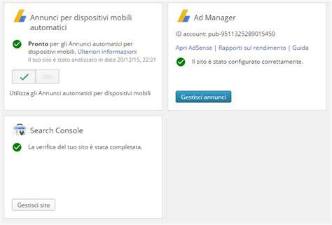 adsense plugin for wordpress miglior plugin wordpress per adsense google publisher