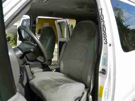 find   ford    passenger extended van club wagon bucket seats   gas