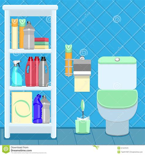 bathroom items list bathroom items stock vector illustration of accessory