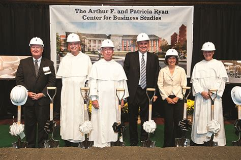Mba Courses Providence College by College Breaks Ground For Arthur F And