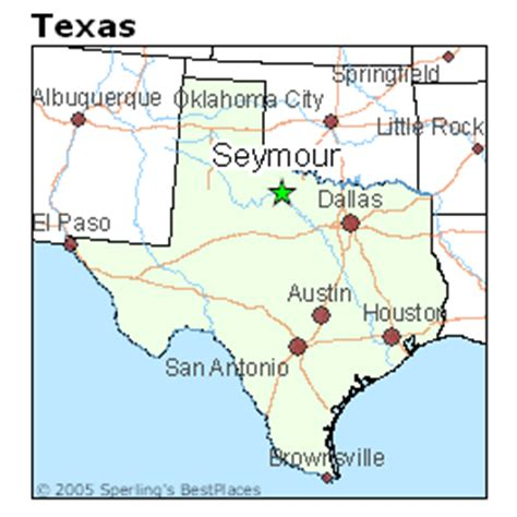 seymour texas map best places to live in seymour texas